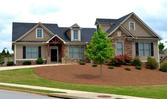 Craftsman Style Home Exteriors Ranch