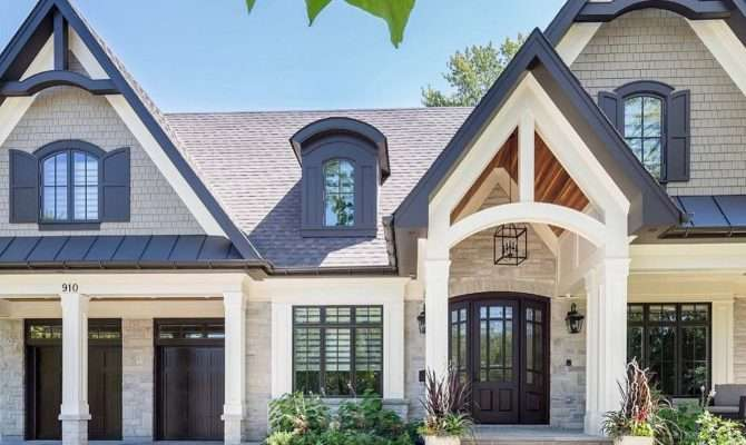 Craftsman Style Homes Exterior Ideas Mobmasker