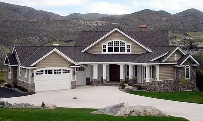 Craftsman Style Homes Plans Galleries Ideas