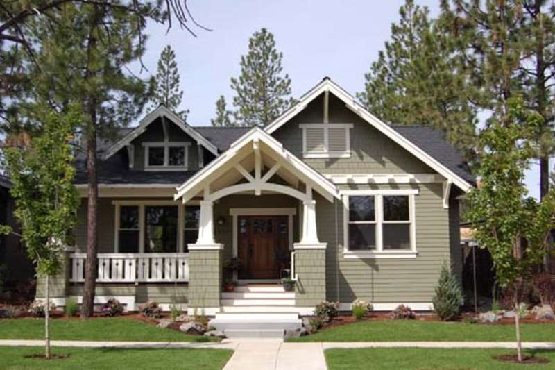 Craftsman Style House Plan Beds Baths