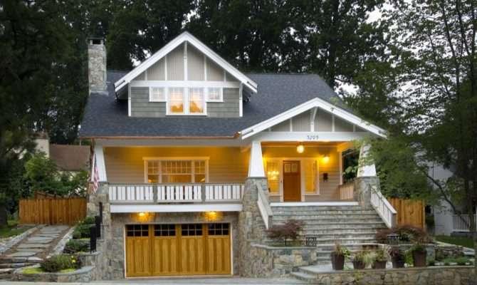 Craftsman Style House Plans Anatomy Exterior