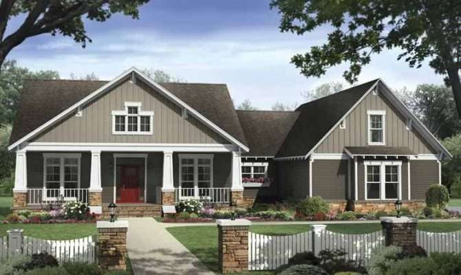 Craftsman Style Single Story House Plans Awesome