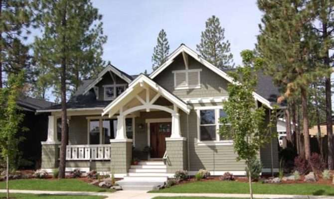 Craftsman Style Single Story House Plans Usually Include
