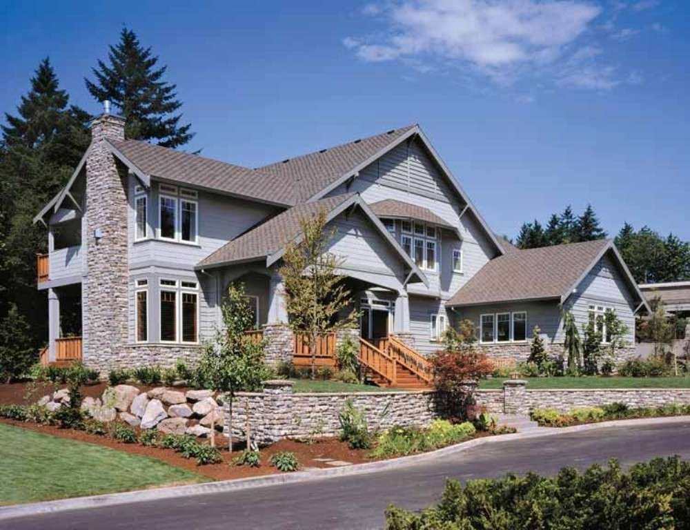 Craftsman Style Single Story House Plans