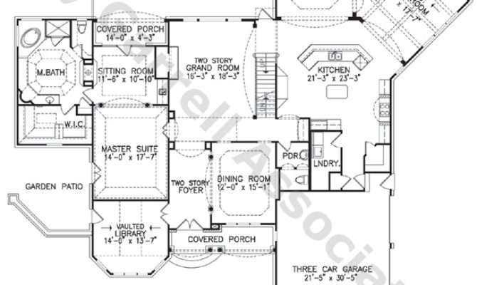 Craftsman Style Story Home Plans