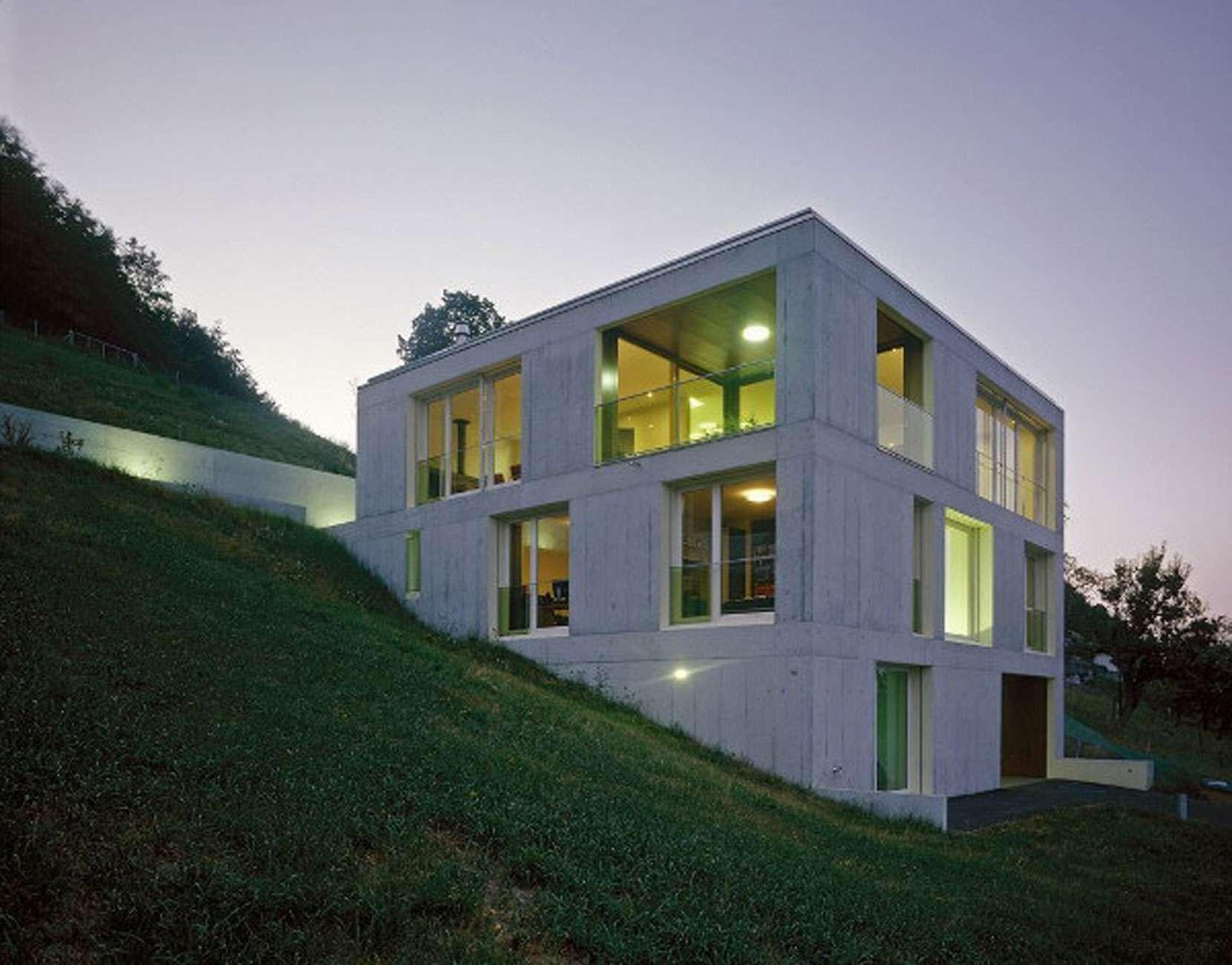 Create Contemporary Concrete Houses Decoration Ideas
