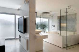 Creative Beach House Bathroom Interior