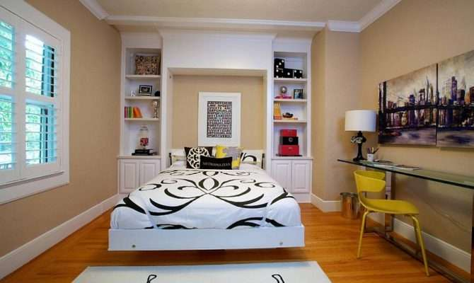 Creative Bedroom Workspaces Style Practicality