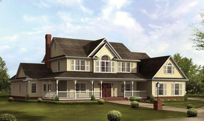 Cruden Bay Country Farmhouse Plan House Plans