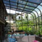 Curved Eave Glass Roof Design Vanguard Home Innovations Four