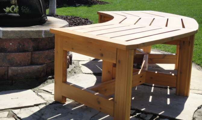 Curved Firepit Bench Kreg Owners Community