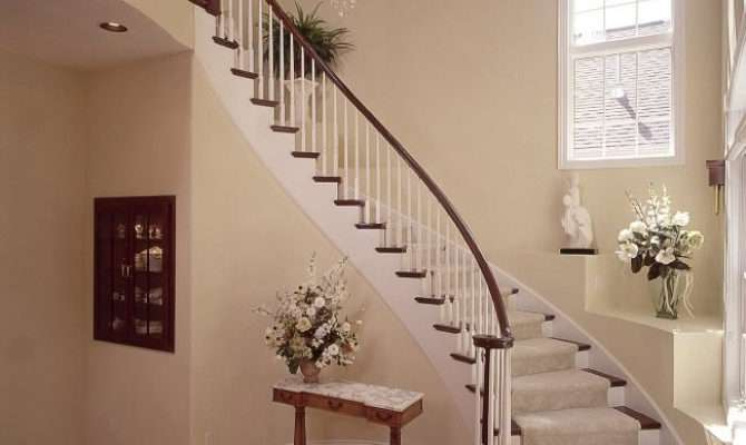 Curved Stairs Staircase Circular