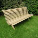 Curved Wooden Garden Bench Plans Beginner Woodworking Project