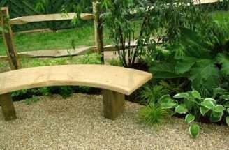 Curved Wooden Garden Bench Plans Scyci
