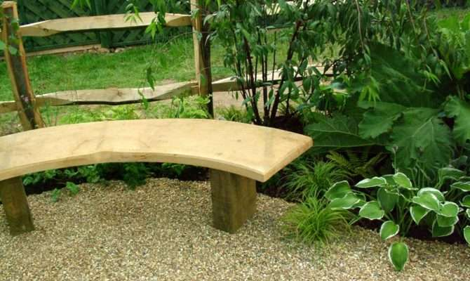 Curved Wooden Garden Bench Plans Scyci