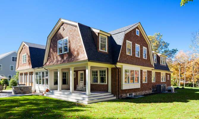 Custom Gambrel Home Sudbury