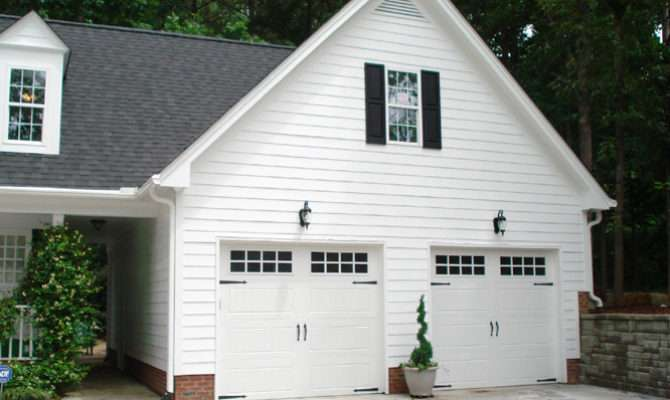 Custom Garage Construction Samples Building