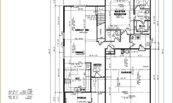 Custom Home Builder Floor Plans Sample