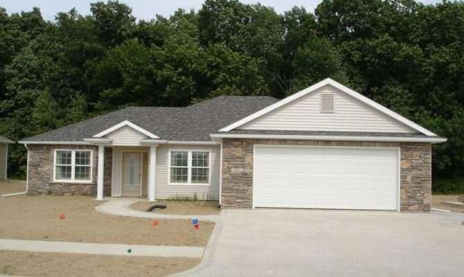 Custom Home House Plan Ranch Blueprint Plans