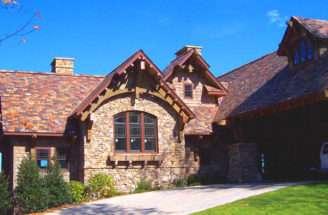 Custom Homes Design Highlands Mountain Mansion Home