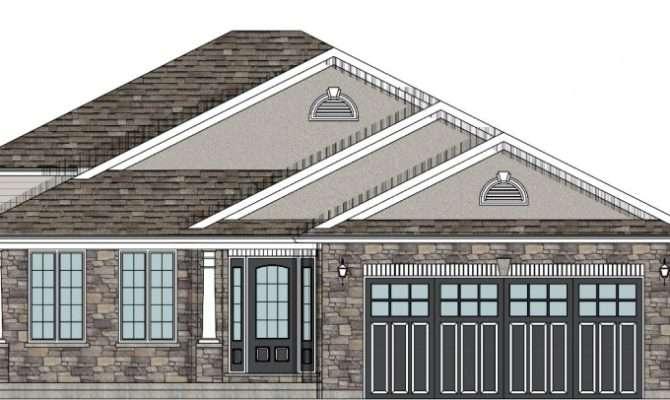 Custom House Plans Hamilton Backsplit Plan Hst