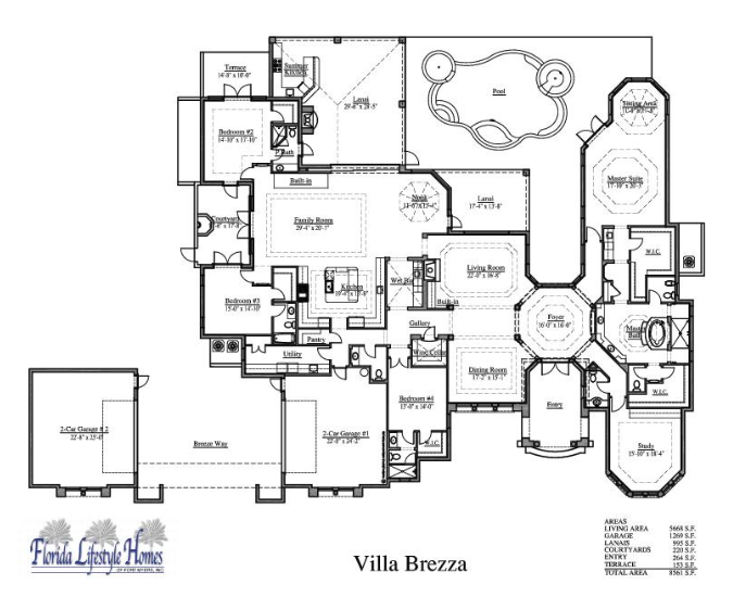 Custom Luxury Home Floor Plans Plan