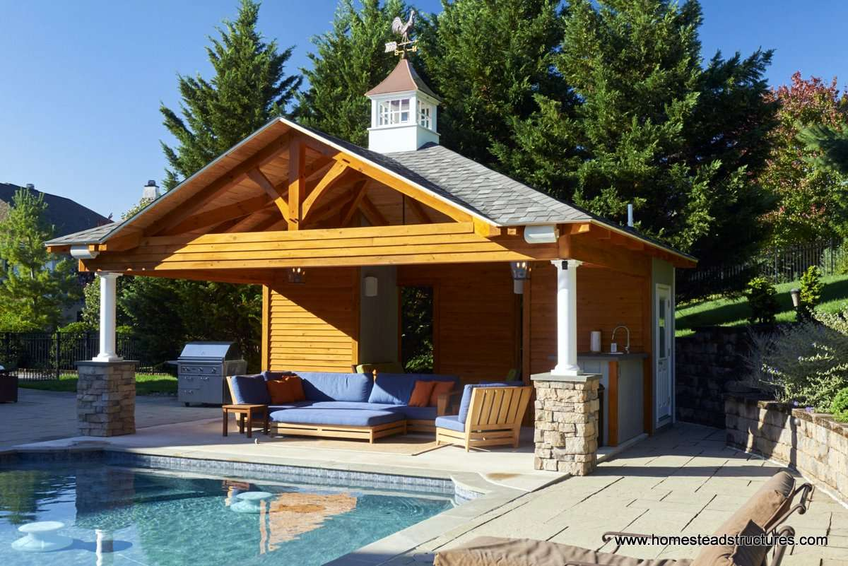 Custom Pool House Plans Ideas Cabanas New