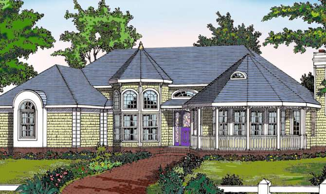 Customizable Victorian Ranch Architectural