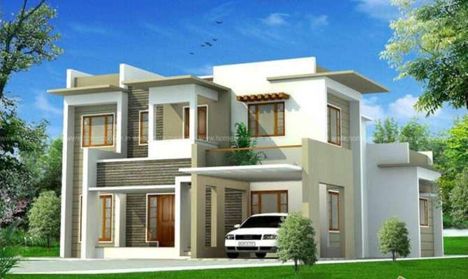 Cute Box Model House Design Homezonline