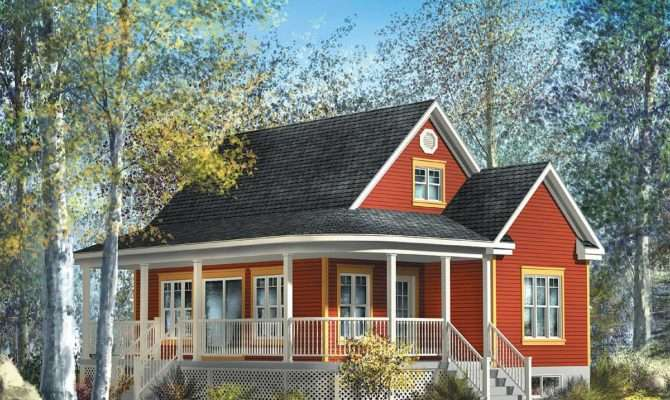 Cute Country Cottage Architectural Designs