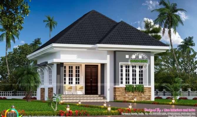 Cute Little Small House Plan Kerala Home Design