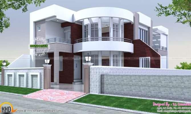 Cute Modern House Plan Kerala Home Design