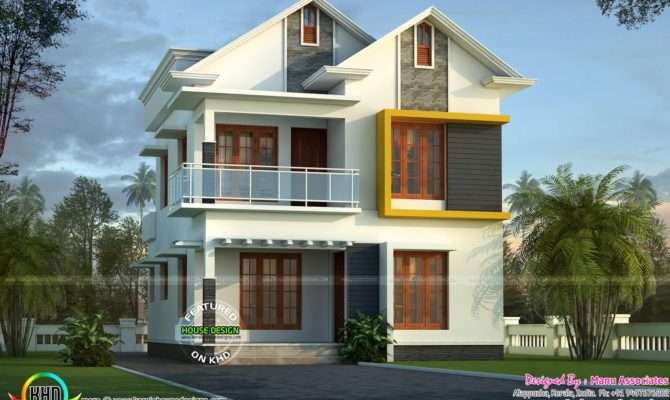 Cute Small Kerala Home Design