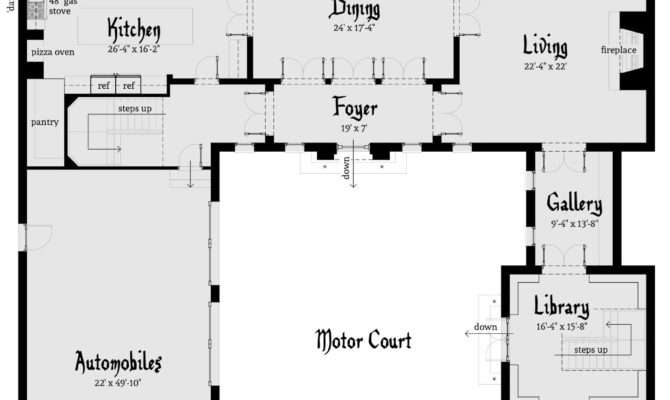 Darien Castle Plan Tyree House Plans