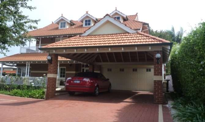 Darling Quality Builds Red Brick Carport