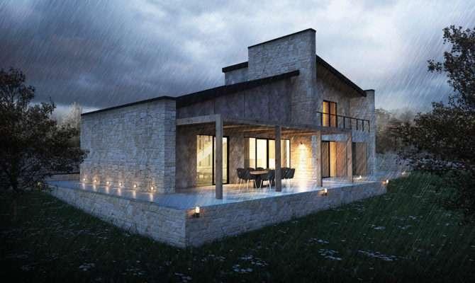 Datca House Made Local Stone Turkey Designed