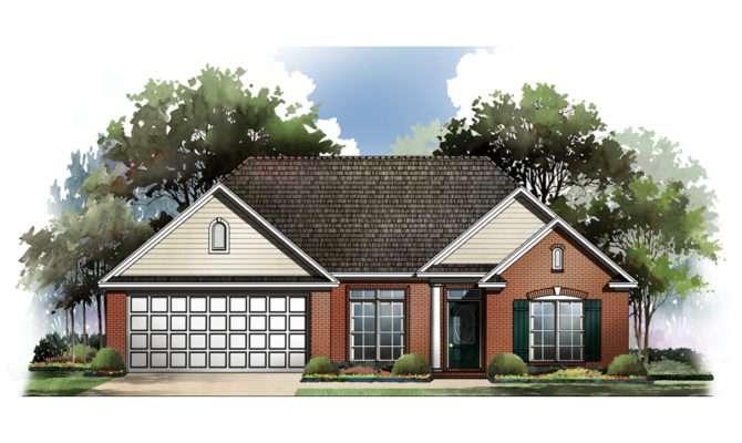 Deandre Ranch Style Home Plan House Plans More