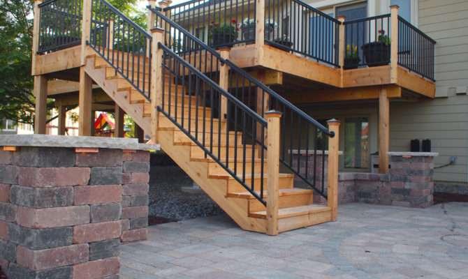Deck Patio Backyard Ideas Custom Designed
