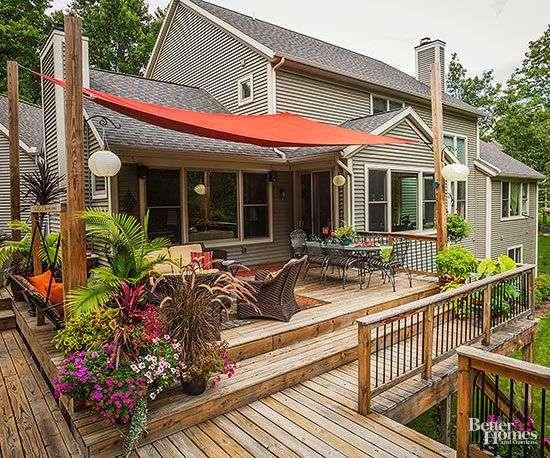 Deck Sun Shade Porch Ideas Best Shades