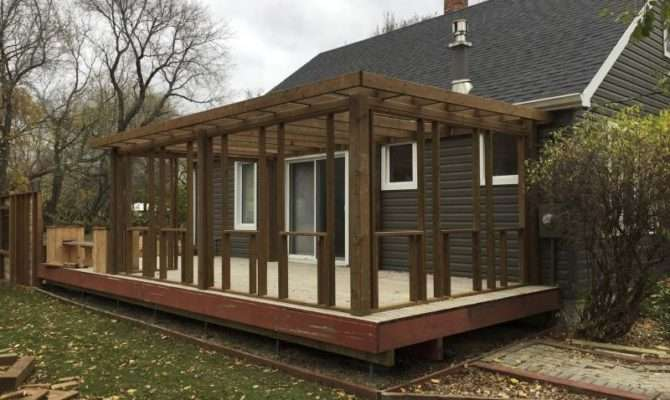 Deck Turned Into Sunroom Winnipeg Press Homes