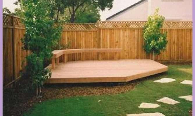 Decking Design Ideas Small Gardens Homedesigns