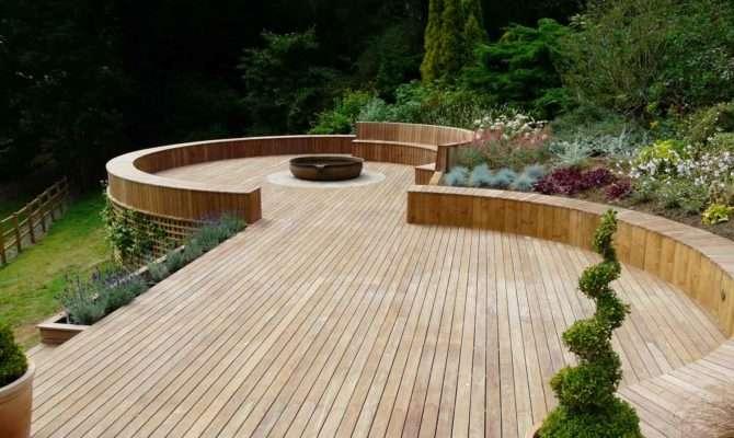 Decking Furniture Ideas Japanese Garden Deck