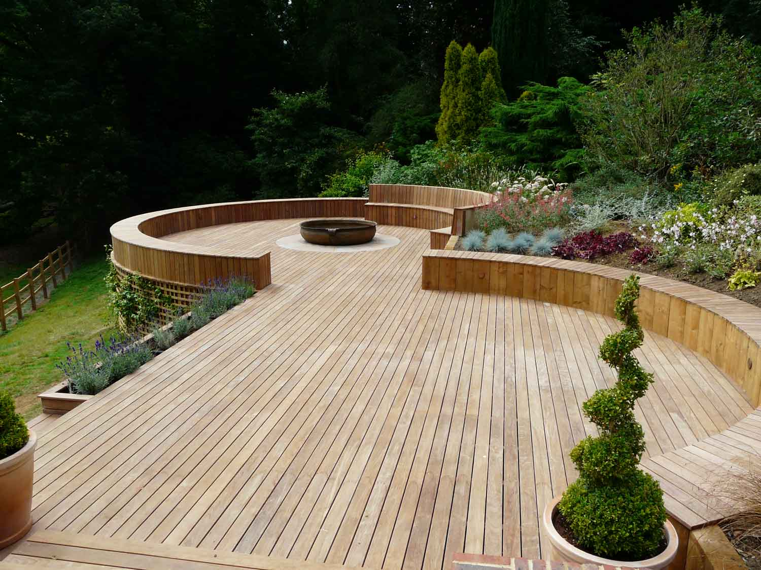 Decking Furniture Ideas Japanese Garden Deck