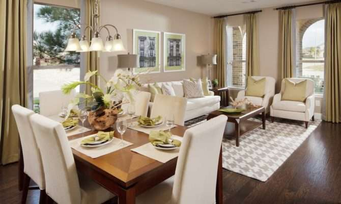 Decorate Living Room Dining Combo Could
