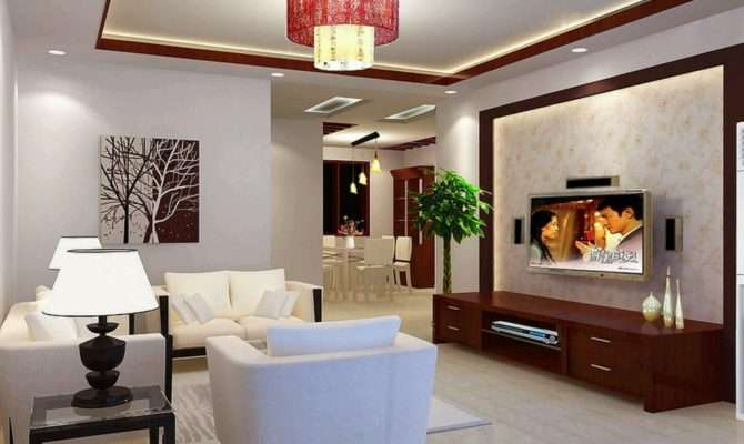 Decoration Living Rooms Ceiling Designs Ideas New Home