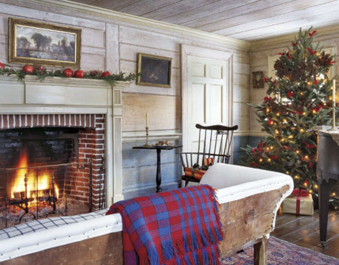 Decorations Christmas New England Country Living