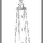 Decorative Lawn Lighthouse Woodworking Building Plans
