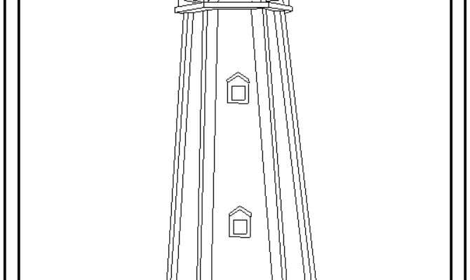 Decorative Lawn Lighthouse Woodworking Building Plans