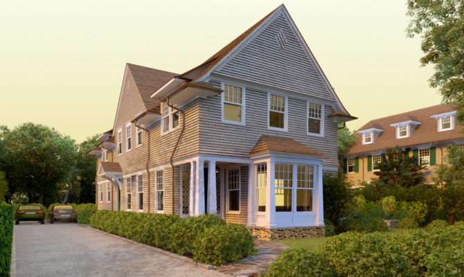 Deer Pond Shingle Style Home Plans David Neff Architect