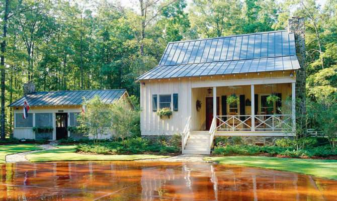 Deer Run Plan Cabins Cottages Under Square Feet